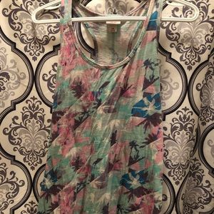 Mossimo patterned tank top